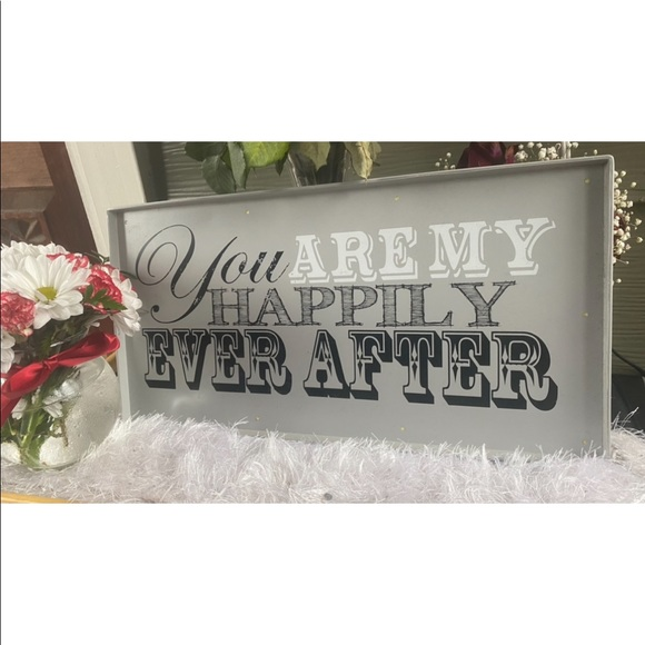 18x9 wedding or decor sign